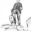 Anton Bruckner Projekt - Gehender Bruckner